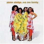SISTER SLEDGE  We Are Family CD ALBUM  NEW - NOT SEALED