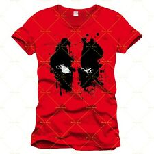 Codi Deadpool T-shirt Splash Head Taglia L