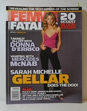 Femme Fatale Michelle Gellar Donna D Errico Mercedes McNab Nude Sexy (FF 7)