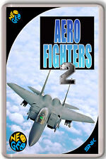 AERO FIGHTERS 2 NEO GEO SNK FRIDGE MAGNET IMAN NEVERA
