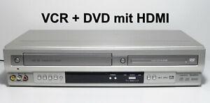 Hi-Fi VHS Videorecorder DVD/CD Player / Kombigerät + HDMI + Zubehör + GARANTIE