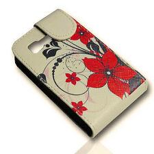 Design 2 sac Flip Cover Case Housse portable étui pour samsung s5220 s5222 star 3