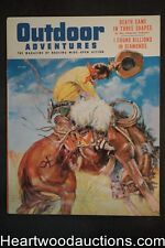 Outdoor Adventure Nov 1955 Eve Meyer, Benton Clark  Cvr - High Grade- NAPA