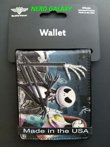 DISNEY Nightmare Before Christmas Cemetery Bi-Fold Wallet BUCKLE DOWN! NEW! SLIM