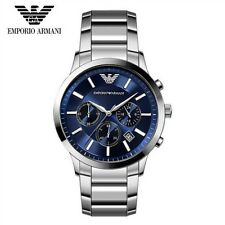 Emporio Armani AR2448 Blue Dial Chronograph Wrist Watch for Men