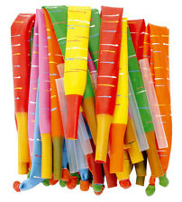 Rocket Balloons x 144 Multi-coloured Party Tiger Tail Balloon Christmas New Year