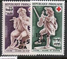 Réunion timbre N° 378 --> 379  neufs **