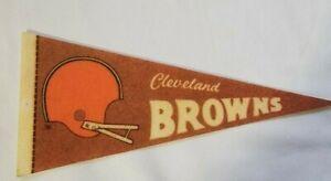 Vintage  NFL  Pennant   Cleveland Browns  Size 9 x 4