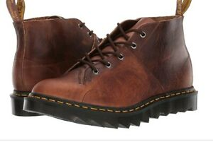 NEW!! DR MARTENS CHURCH RP (RIPPLE) - BROWN - Made In England - SIZE UK 5