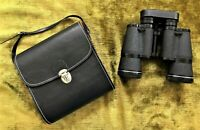 Vintage Sears Binoculars 7x35 Coated Optics Wide Angle w Case 500 ft x 1000 Yds