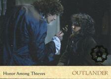 Outlander Season 2 Gold Jacobite Seal Base Card #18 Honor Among Thieves