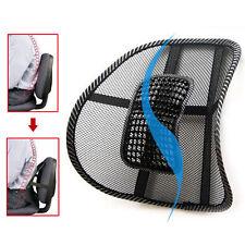 Car Back Seat Office Sofa Chair Cover Massage Cool Cushion Lumbar Brace Pillow