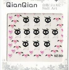 Skull + Ghost Japan 3D Nail Art Decoration Sticker Tip DIY NS0140