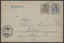GERMANY, 1907. Post Card P70, Bahnpost, Coln-Giessen