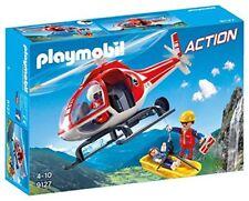 Playmobil Action 9127. hélicoptère de sauvetage Montagne. Plus de 4 ans