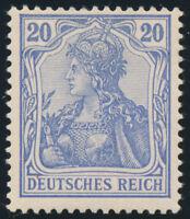 DR 1902, MiNr. 72 b, ungebraucht, Fotobefund Jäschke-L., Mi. 600,-