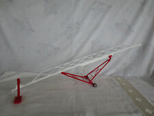 MIDWEST 1/64 RED & WHITE SWING BOOT GRAIN AUGER 115' FARM TOY IMPLEMENT L@@K!!!