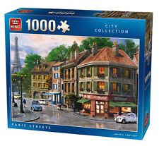 Jigsaw-Puzzle 1000 Teile PARIS FRANKREICH FRANZÖSISCH STRAßE EIFFELTURM TATORT