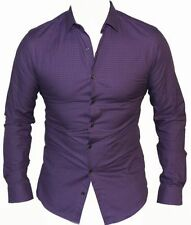 Long Sleeve Classic Solid 100% Cotton Casual Shirts for Men
