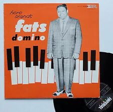 """Vinyle 33T Fats Domino  """"Here stands"""""""