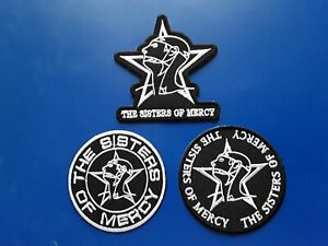 The Sisters Of Mercy Patches Set of Three
