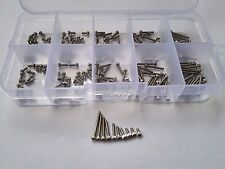 180PCS M1.6 Allen Bolt Hex Socket Round Cap Head Screw Bolts Assortment Set Kit