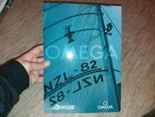 32 america's cup sailing race press folder of Omega Emirates Team New Zealand