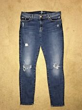 7 For All Mankind the ankle Skinny denim womens jeans size 30