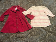 Baby Girl 6-12 Month Lot Of 2 Long sleeve Tops: Old Navy, Baby Gap