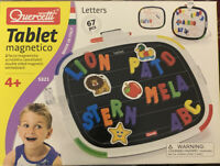 Magnetic Tablet Letters Quercetti  My  First Alphabet Toy Children Gift