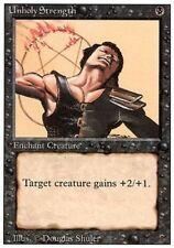 ▼▲▼ Unholy Strength (Force impie) REVISED  #133 ENGLISH Magic MTG