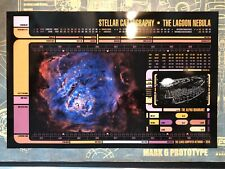 "• STAR TREK • LCARS • STELLAR CARTOGRAPHY PANEL 11"" x 17"" • PROP REPLICA •"