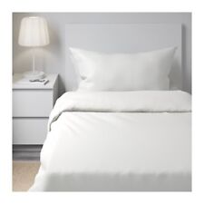 DVALA Duvet cover and pillowcase(s), white, Twin