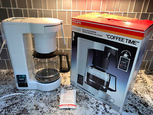 Vintage Krups programmable Coffee Maker 165 Complete Made In Germany IOB Tested