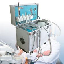 4Hole Portable Delivery Unit case Compressor Dental Equipment LED Handpiece 4-H