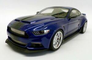FORD SHELBY MUSTANG GT 350 WIDE BODY DEEP IMPACT BLUE GT SPIRIT GT238 1/18 999 P