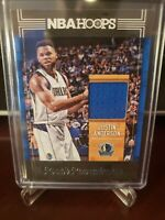 2017-18 Panini Hoops Rookie Remembrance Justin Anderson Jersey Card