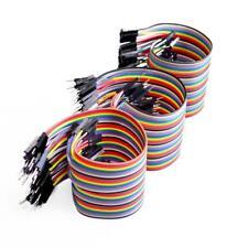 120pcs 20cm male to male + male to female female to female jumper wire