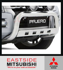 GENUINE MITSUBISHI PAJERO NX NW CHROME ALLOY NUDGE BAR - MZ350536