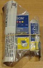Pair of GENUINE EPSON T007 Black & T009 colour cartridges ORIGINAL vac' seal ink