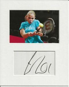 Jelena Dokic tennis signed genuine authentic autograph signature and photo AFTAL