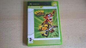 CRASH TWINSANITY - BANDICOOT XBOX GAME / + XBOX 360 - ORIGINAL & COMPLETE