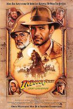 Indiana Jones and The Last Crusade Original Drew Struzan 27x41 Movie Poster - A