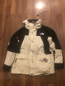 vintage 1990s the north face TNF summit series gore Tex Cream windbreaker jacket