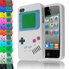 BOY GAME CONSOLE INSPIRED CASE FOR iPhone 4S 4 RETRO STYLE SILICONE COVER
