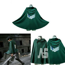 Attack On Titan Cape Cloak Shingeki No Kyojin Scouting Legion Cosplay Costume