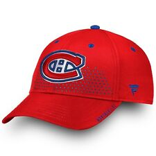 Men's 2018 Montreal Canadiens Fanatics Official Draft Structured Flex Hat L/XL