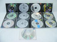 Lot de 13 CD Chansons Francaise ancienne sans jaquettes ROSSI GRÉCO Mega Retro