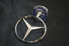 original Mercedes Benz Stern Motorhaube W 204 W 211 W 212 W 221 Eichenkranz Blau