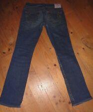 """""""True Religion"""" Stretch Denim Johnny Jeans, Size 27"""